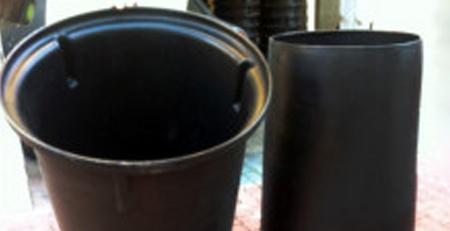 Plastic Garbage Chute